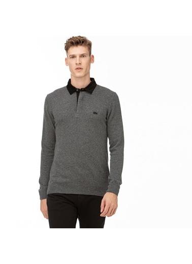 Lacoste Erkek  Sweatshirt AH2039.39G Gri